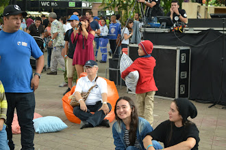 Photo: José Eddy Torres disfruta el Primavera Fest