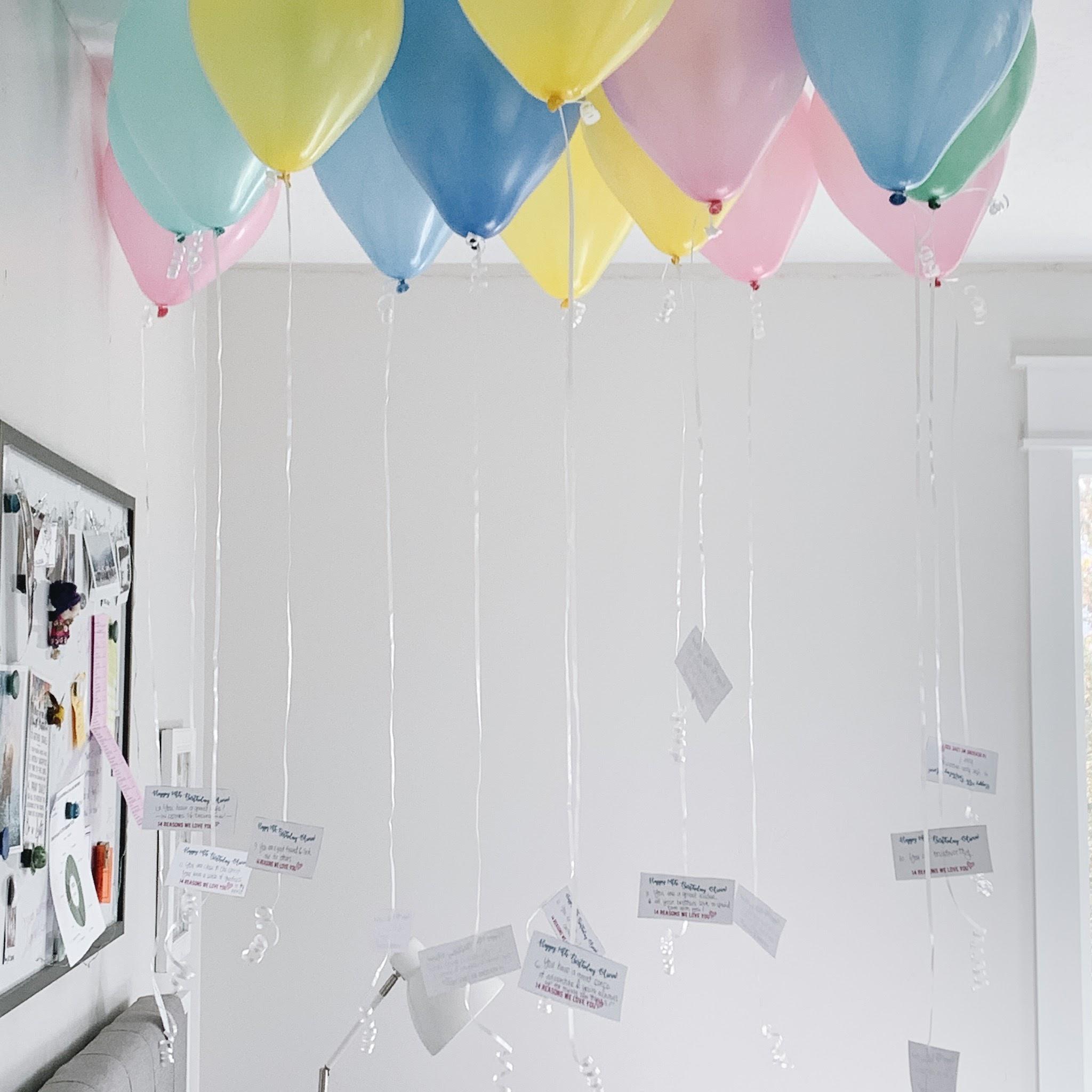 Birthday Balloons for Olivia