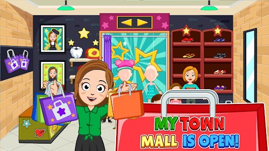 My Town : Shopping Mall MOD APK 1.00 [Characters Unlocked] 5