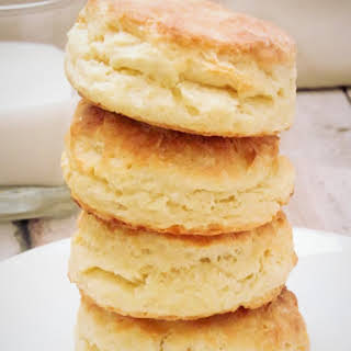 Homemade Buttermilk Biscuits.