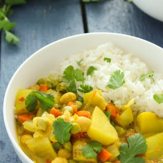 Crockpot Vegetable Curry