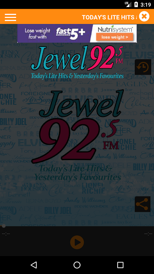 Jewel 92.5- screenshot