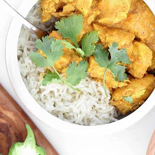 Lightened Chicken Tikka Masala Recipe