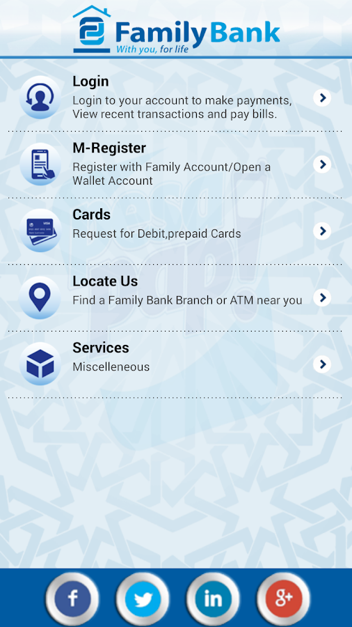 PesaPap,Family Bank- screenshot