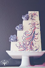 Photo: Rosemaling by Three Little Blackbirds (TLB Cakes) (9/24/2012) View cake details here: http://cakesdecor.com/cakes/30216