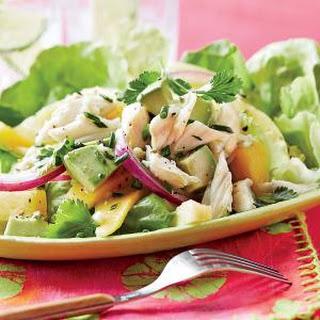 Mango-Pineapple Crab Salad.