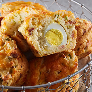 Bacon Egg And Cheese Breakfast Muffins Recipes.