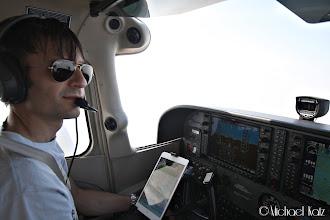 Photo: Pilot in command er Michael.