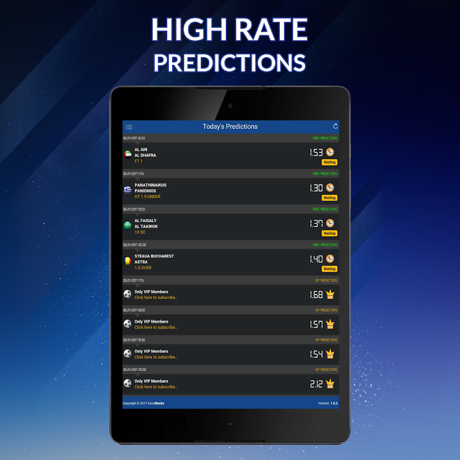 ExcelBanko - Daily Matches Predictions- screenshot