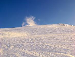 Photo: neve modellata dal vento
