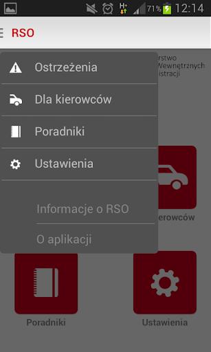 Regionalny System Ostrzegania screenshot 2