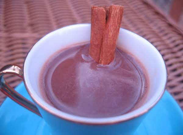 Hot Chocolate Honey Graham Milk