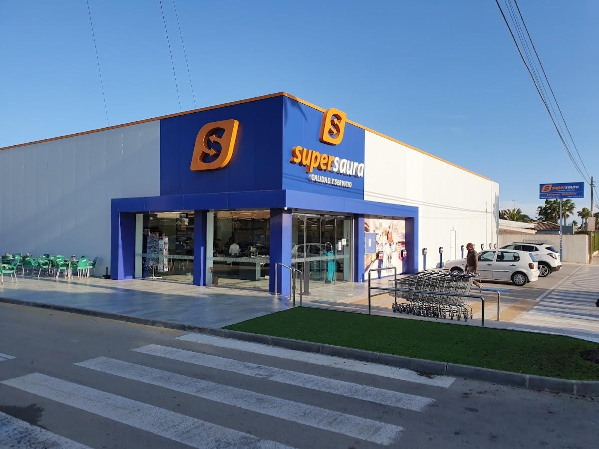 Supermarkt direkt um die Ecke