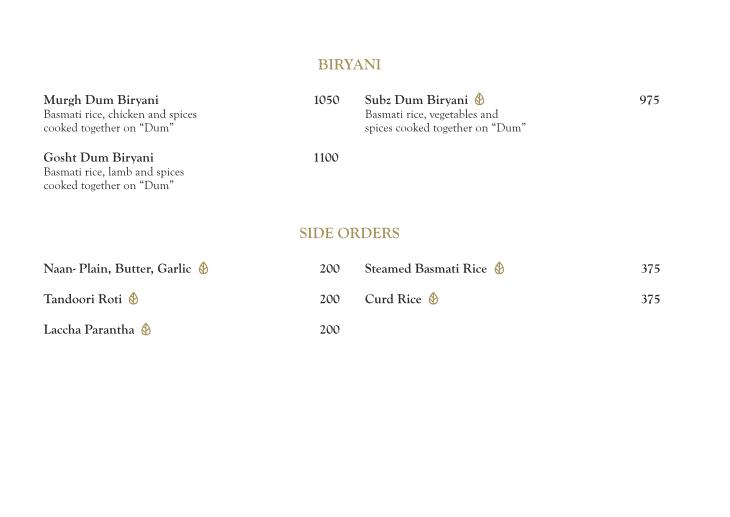 The Market - The Ritz-Carlton menu 6