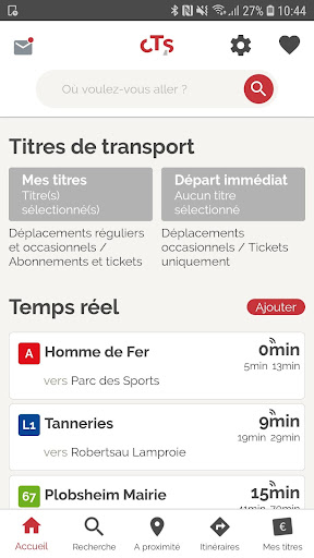 CTS Transports Strasbourg screenshot 1