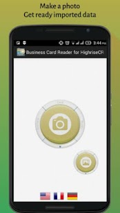 Business Card Reader for Highrise CRM- screenshot thumbnail