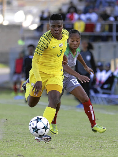 Nothando Vilakazi says Banyana must stop conceding early goals.