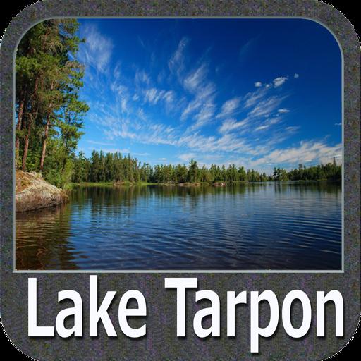 Lake Tarpon - Florida GPS Map Navigator