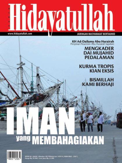 Hidayatullah Edisi Oktober 2017