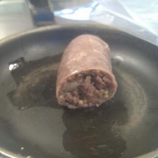 Venison, Mustard, and Clove Sausage.