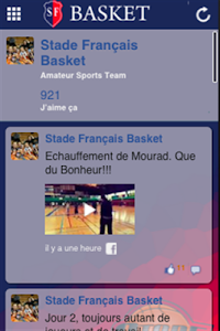 Stade Français Basket screenshot 1