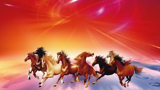 Seven Horses Wallpaper 7 Apps On Google Play