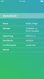 CareSocial.Die Pflegesoftware. screenshot 3