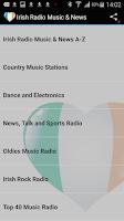 Screenshot of Irish Radio Music & News