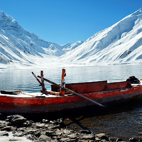 Lake Saif UL Malook Pakistan by Sajjad Khan - Transportation Boats