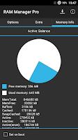 Screenshot of RAM Manager Pro