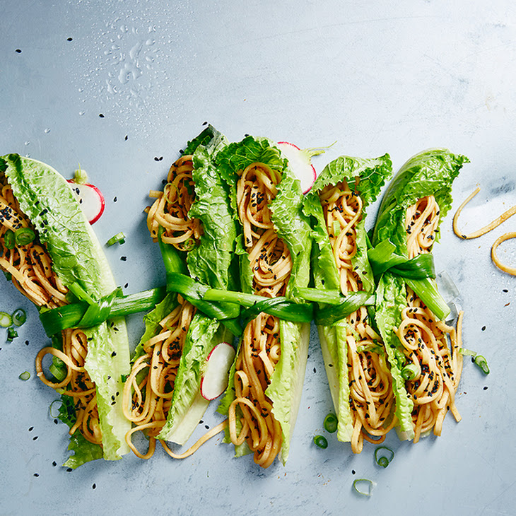 Sesame Cold Noodle Bundles Recipe
