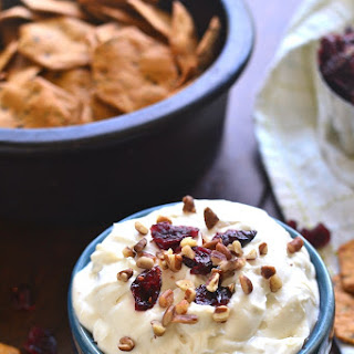 Maple Pecan Cranberry Dip