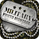 Militär fotomontage