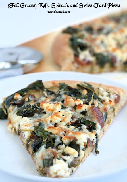 Fall Greens: Kale, Spinach, and Swiss Chard Pizza