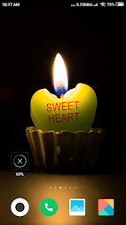 Candle Light  Wallpaper HD APK screenshot thumbnail 2