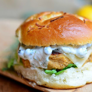 The Perfect Salmon Burger