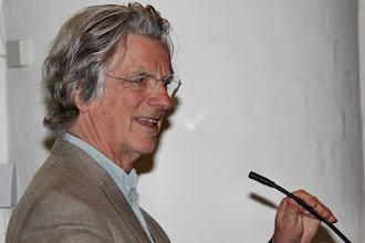 Photo: Ds. Rieks Hoogenkamp, drijvende kracht van het Barbara-festival
