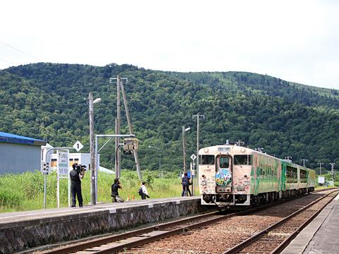 JR北海道 観光列車「風っこそうや」 音威子府にて_01