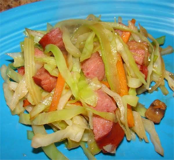 Kielbasa Stir Fry By Maggie