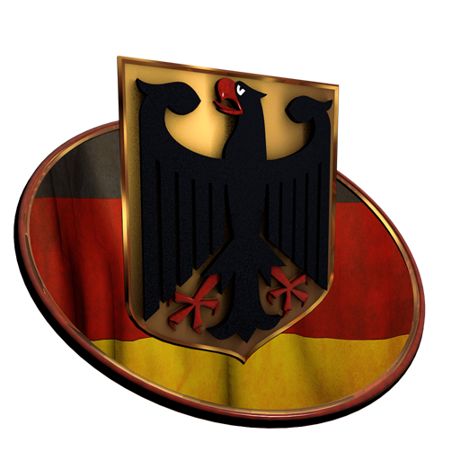German Coat of Arms 3D