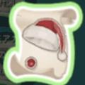 クリスマスのヘルメットの設計図