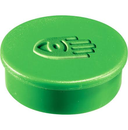Magnet extra stark grön 10/fp