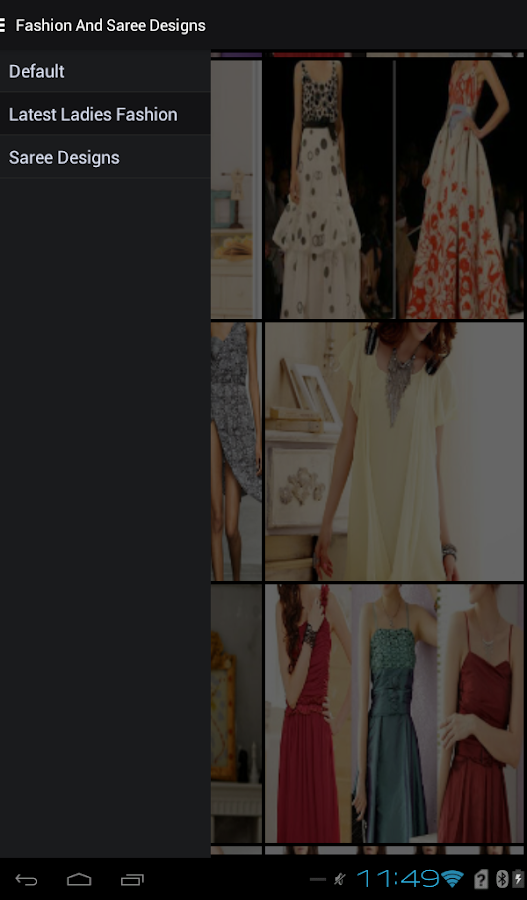 Latest Fashion & Saree Designs- screenshot