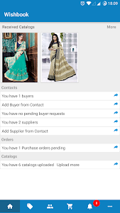 Wishbook B2B Catalog/Sales App screenshot 0