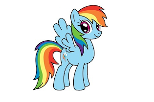 How to draw rainbow ponyy - screenshot thumbnail 04