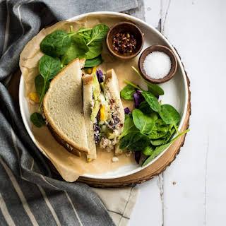 Grown-Up Tuna Salad Sandwiches.