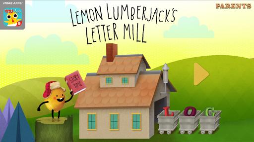 Lemon Lumberjack's Letter Mill