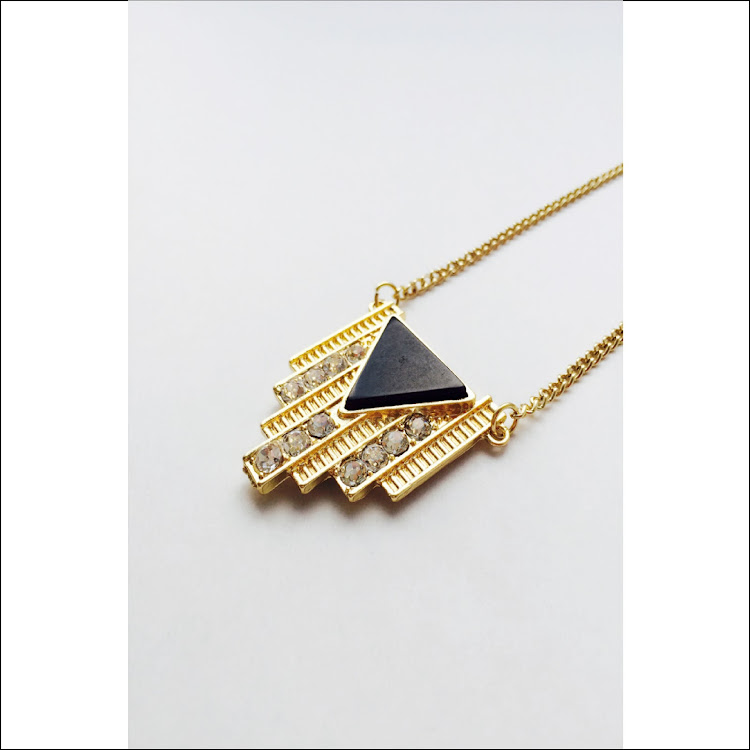 N035 - G. Citadel Geo Necklace