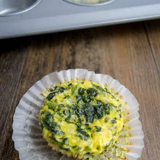 Spinach and Cheese Egg Muffins.