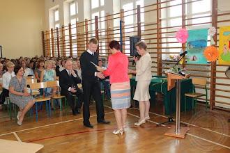 Photo: Zakończenie roku szkolnego klas I-II wyróżnieni uczniowie